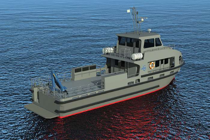 IC Veecraft workboat for the SANDF, appearing in Africa PORTS & SHIPS maritime news