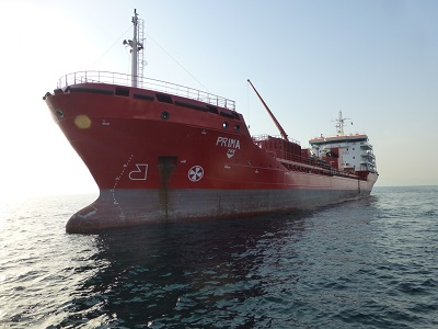 Petromoc bunker tanker Prima, featured in Africa PORTS & SHIPS maritime news