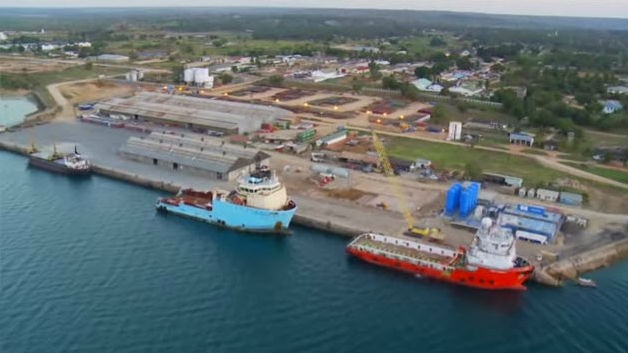 Port of Mtwara, appearing in Africa PORTS & SHIPS maritime news