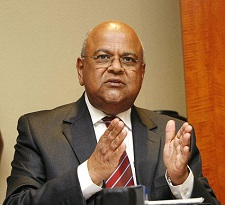 Pravin Gordhan, minister of public enterprise, featuring in a report in Africa PORTS & SHIPS maritime news