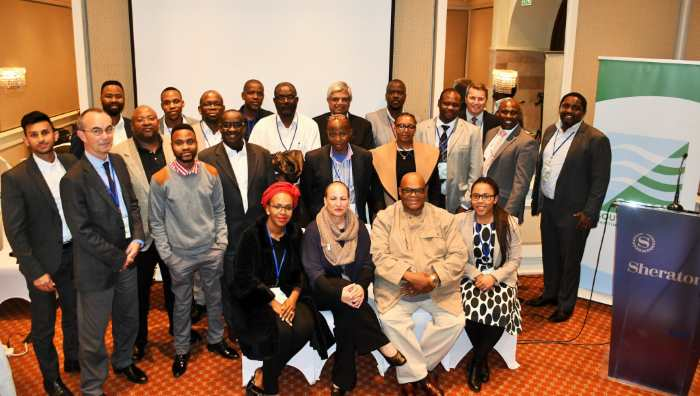 Some of the participants at the first South African Shipping Industry Workshop organised by SAMSA in Pretoria last week, representing trade cargo ship owners, mineral resources mining, policy makers as well as regulatory authorities directly involved with sectors impacting the shipping sector. Picture by SAMSA, appearing in Africa PORTS & SHIPS maritime news