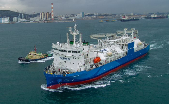 Nauticor's Kairos, featured in Africa PORTS & SHIPS maritime news