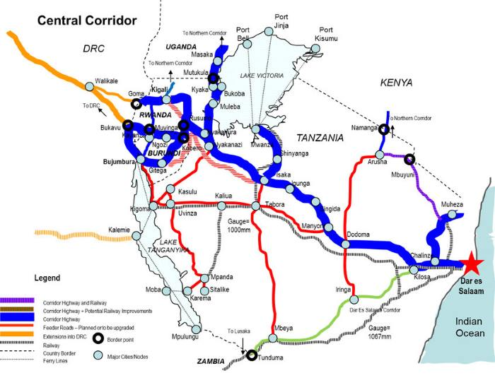 Tanzanian Central Corridor featured in Africa PORTS & SHIPS maritime news