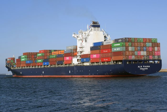 ALS Fauna. Picture: Trevor Jones, appearing in Africa PORTS & SHIPS maritime news