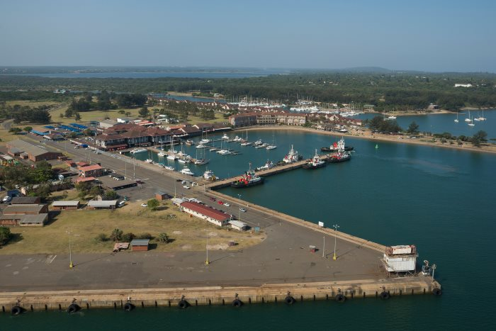 Richards Bay ship repair wharf. Picture: TNPA, featured in Africa PORTS & SHIPS maritime news