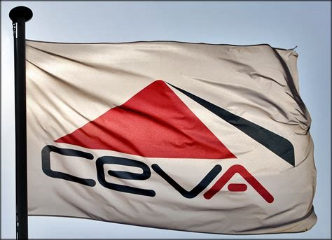 CEVA flag and banner, appearing in a report in Africa PORTS & SHIPS maritime news