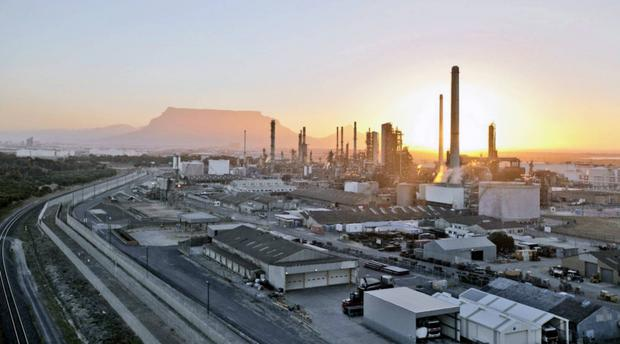 Cape Town's Chevron Refinery, featured in Africa PORTS & SHIPS maritime news