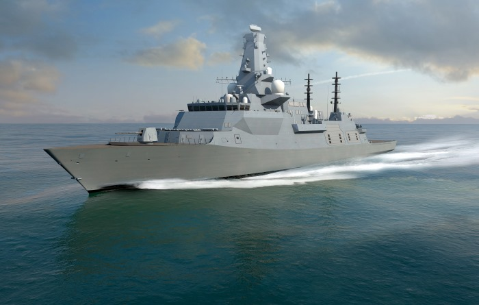 Type 26 frigate of the RN, appearing in Africa PORTS & SHIPS maritime news