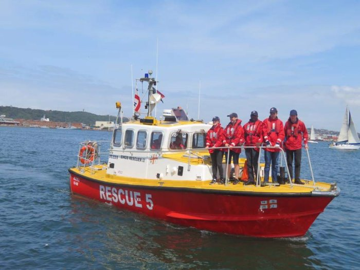 Eikos Rescuer II. Picture: NSRI, featured in Africa PORTS & SHIPS maritime news