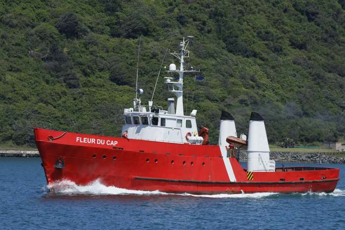Fleur du Cap at Durban. Picture: Keith Betts, appearing in Africa PORTS & SHIPS maritime news