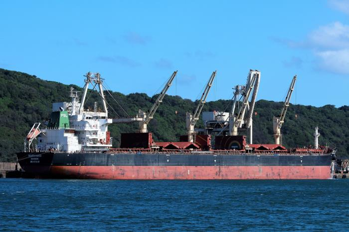 Issara Naree at the Bluff, Durban. Featured in Africa PORTS & SHIPS maritime news. Picture: Keith Betts
