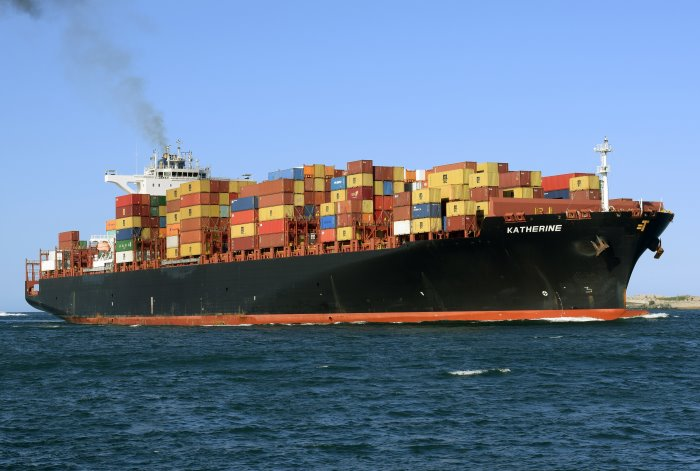Katherine arriving at Durban. Picture: Trevor Jones, appearing in Africa PORTS & SHIPS maritime news