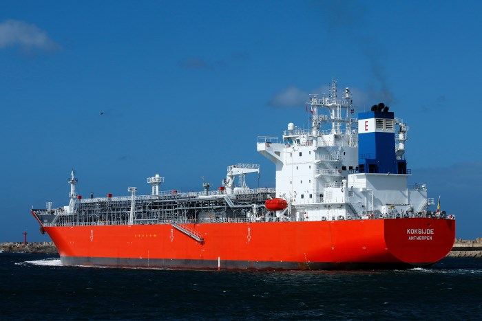 Koksijde at Durban, picture by Keith Betts, appearing in Africa PORTS & SHIPS maritime news