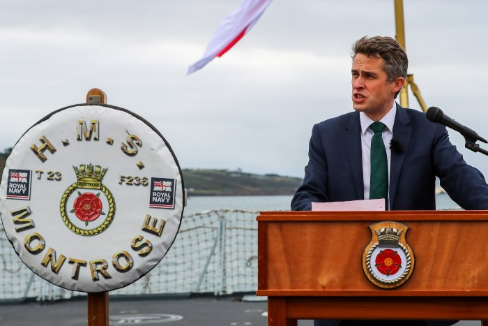 UK Defence Secretary Gavin Williamson at Devonport, featuring in Africa PORTS & SHIPS maritime news