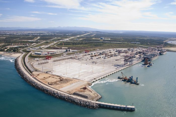 Progress being made with the new port terminal at Nacala, featured in Africa PORTS & SHIPS maritime news