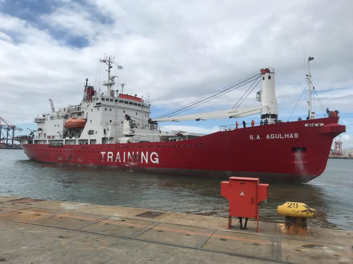 SA Agulhas, featured in Africa PORTS & SHIPS maritime news