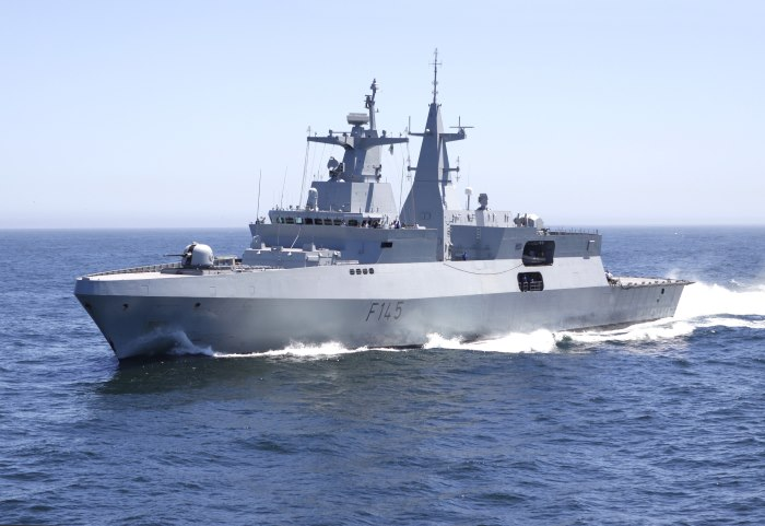SAS Amatola at sea. Picture courtesy: SA Navy, featured in Africa PORTS & SHIPS maritime news