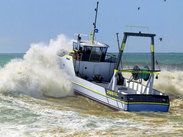 Damen fishing trawler, featured in Africa PORTS & SHIPS maritime news