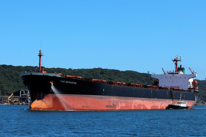 The Merciful in Durban, by Keith Betts, appearing in Africa PORTS & SHIPS maritime news