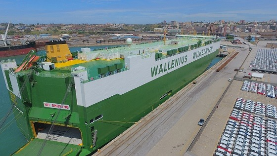 Titus in Port Elizabeth last week. Picture: TNPA, appearing in Africa PORTS & SHIPS maritime news