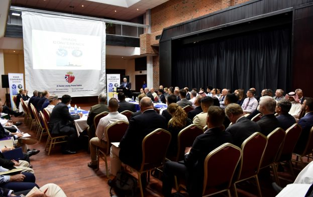 Scene at the recent SHADE conference (Nov 2018), featured in Africa PORTS & SHIPS maritime news