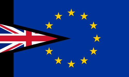 Brexit flag appearing with Africa PORTS & SHIPS maritime news