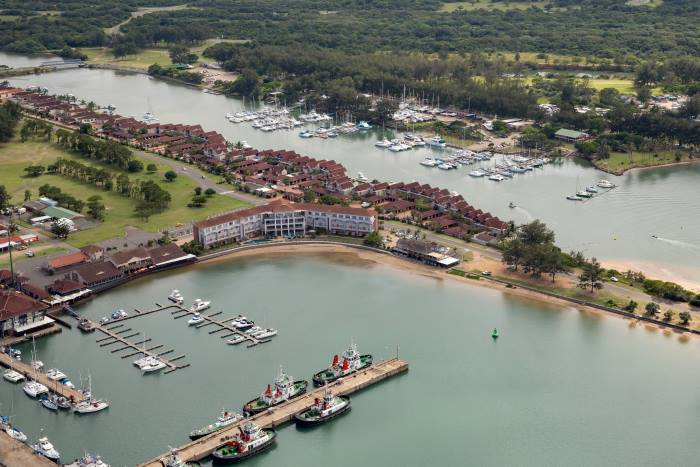 Port of Richards Bay small craft & Tuzi Gazi Waterfront, where much of the Festival activity will take place, featured in Africa PORTS & SHIPS maritime news