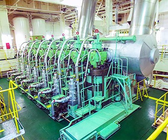 Moscord banner: Engine room, featured in Africa PORTS & SHIPS maritime news
