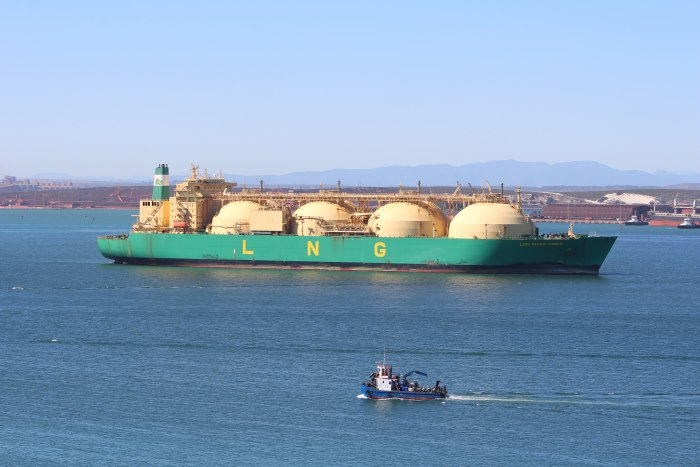LNG River Niger. Picture: TNPA, featured in Africa PORTS & SHIPS maritime news