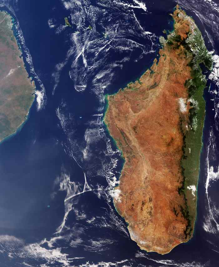 Id 411360/Madagascar/Released 09/11/2018 10:00 am/Copyright contains modified Copernicus Sentinel data (2018), processed by ESA, CC BY-SA 3.0 IGO©, featured n Africa PORTS & SHIPS maritime news