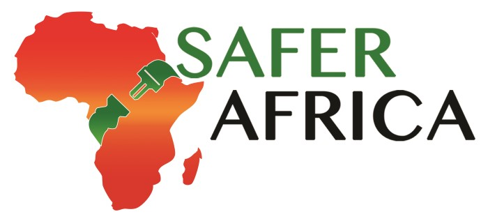Safe Africa log and banner, appearing in Africa PORTS & SHIPS maritime news