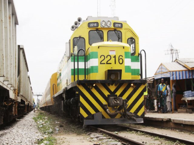 Nigerian Cape-gauge railway locomotive, featured in Africa PORTS & SHIPS maritime news