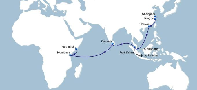 CMA CGM's Asea-Kenya-Mogadishu service improvement, featured in Africa PORTS & SHIPS