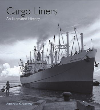 Book cover, Cargo Liners, an Illustrated History, featured in Africa PORTS & SHIPS