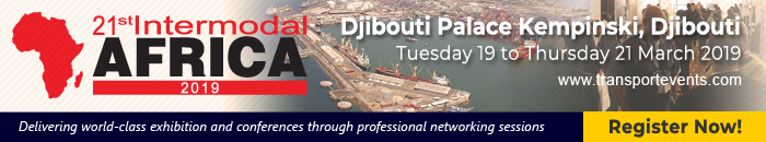 Intermodal Djibouti March 2019, featured on Africa PORTS & SHIPS