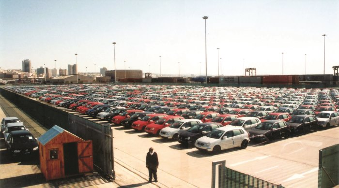 Another view of the Point Docks section of the Durban Car terminal, featured in Africa PORTS & SHIPS maritime news