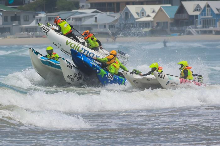 Competitors in the Trans Agulhas Inflatable Boat Challenge take to the seas, featured in Africa PORTS & SHIPS maritime news