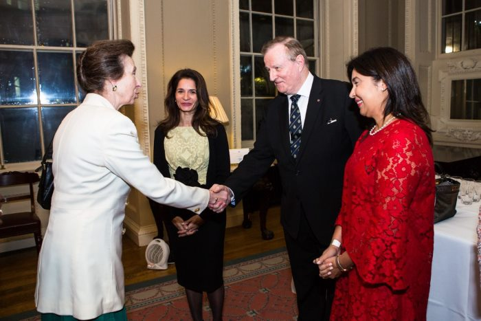 HRH The Princess Royal, President of The Mission to Seafarers, met with supporters of the Mission and leading industry professionals, including Minister Chancellor Ms Ana Alvarado, Panama Embassy and Dr John E. Meredith, CBE, Chairman-Designate, of MtS Panama, featured in Africa PORTS & SHIPS maritime news