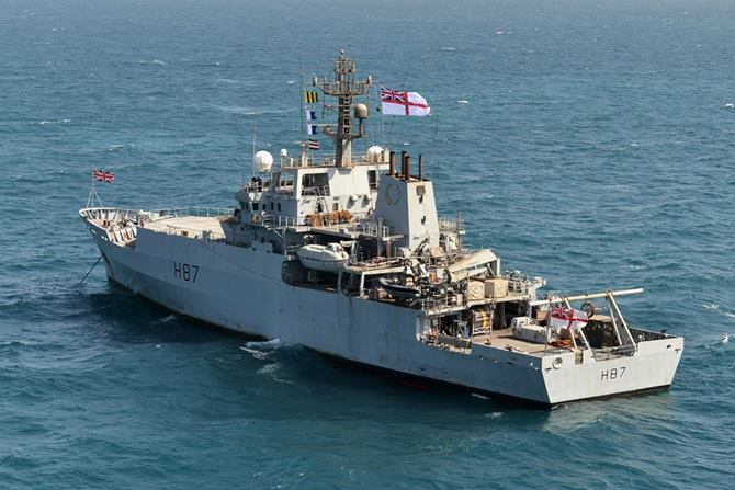 HMS Echo, to be deployed to the Black Sea. Picture: Royal Navy