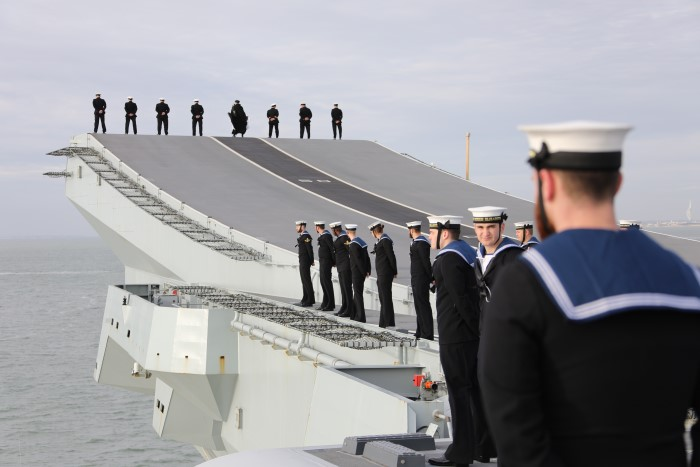 HMS Queen Elizabeth returns to Portsmouth, featured in Africa PORTS & SHIPS maritime news