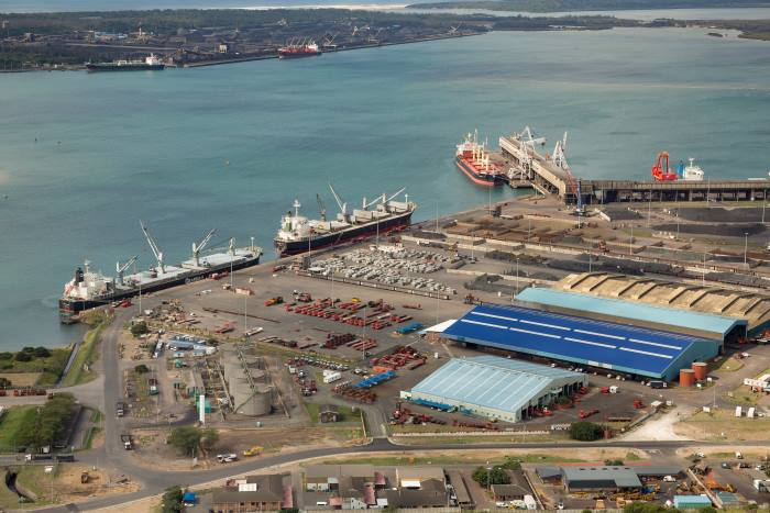 Port of Richards Bay Multipurpose Terminal, as appearing in Africa PORTS & SHIPS