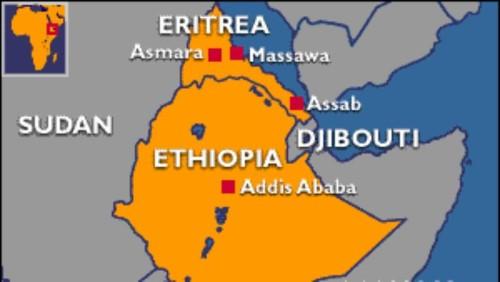 Ethiopia Eritrea joint map