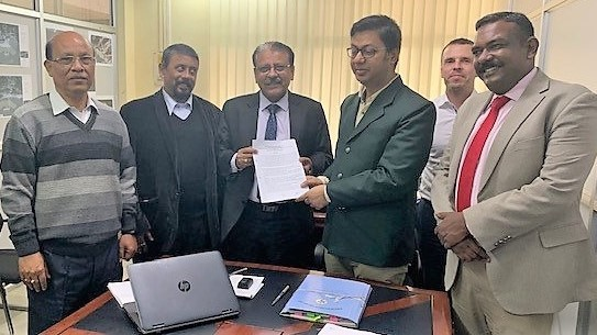 MoU Ssigning between IRClass and Govt of Assam, featured in Africa PORTS & SHIPS