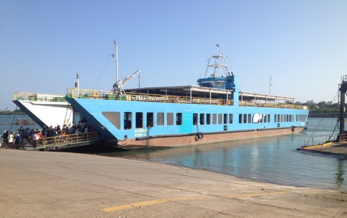 KFS' ferry Jambo. Picture Kenya ferry Services, as featured in Africa PORTS & SHIPS