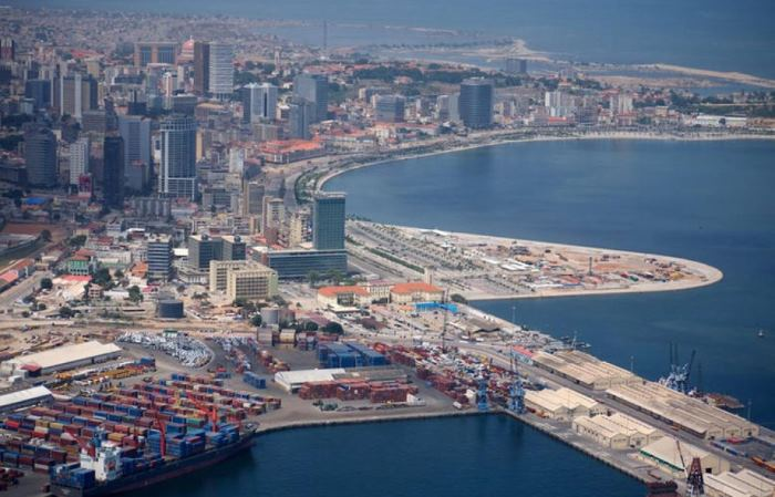 Port of Luanda andcity, featured in Africa PORTS & SHIPS