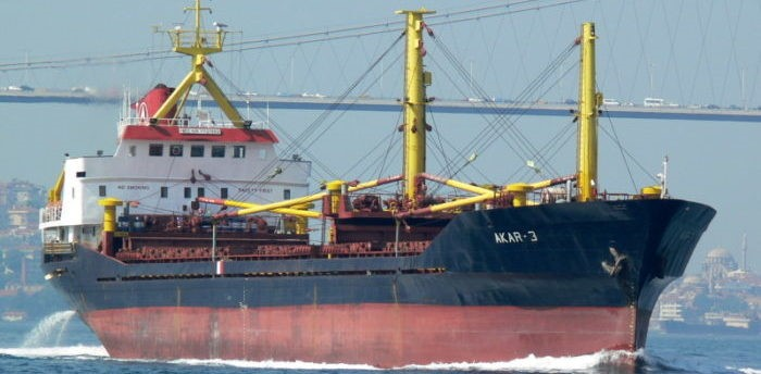 General cargo ship Mark, former Charly and ex Akar 3, featured in Africa PORTS & SHIPS