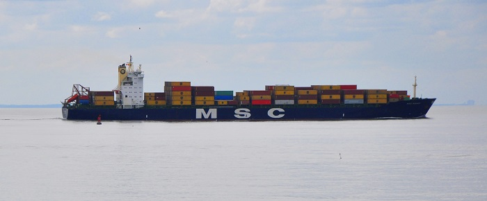 MSC Mandy. Picture: Wikipedia Commons, appearing in Africa PORTS & SHIPS