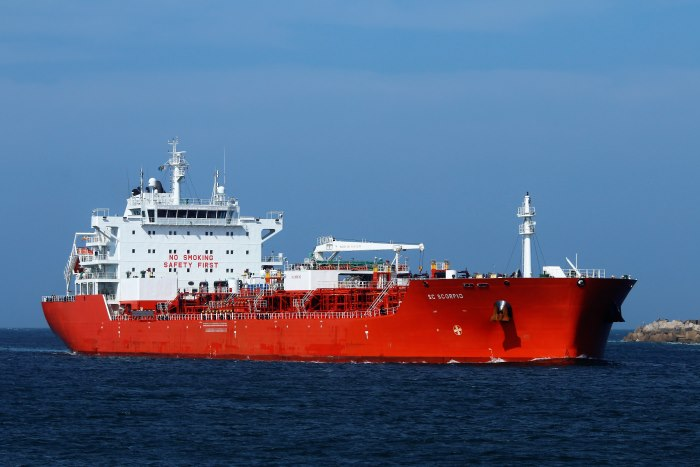 SC Scorpio approaching the port of Durban entrance channel. Picture: Keith Betts, appearing in Africa PORTS & SHIPS