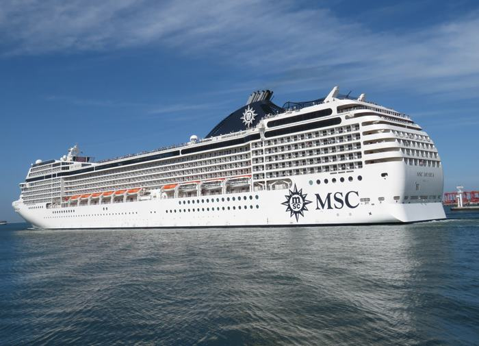 MSC Musica in Cape Town earlier in January. Picture: Ian Shiffman, featured in Africa PORTS & SHIPS