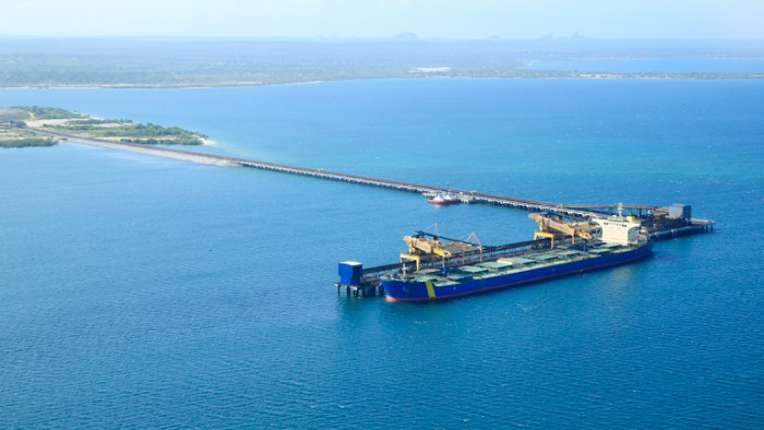 Nacala Coal Terminal at Nacala a-Velha. Picture: Mitsui, featured in Africa PORTS & SHIPS